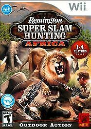 Remington Super Slam Hunting Africa, Good Nintendo Wii, Nintendo Wii Video Games