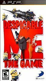 Despicable Me: The Game (NEW, Sony PSP, 2010)