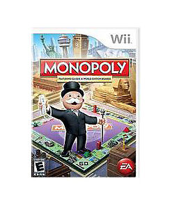 Monopoly, Good Nintendo Wii, Nintendo Wii Video Games