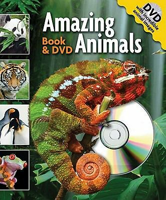 NEW - Amazing Animals Book and DVD