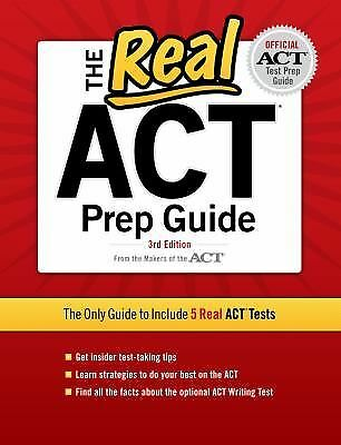 The Real ACT, 3rd Edition (Real ACT Prep Guide), Good Books