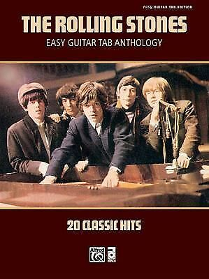 Rolling Stones Easy Guitar TAB Anthology (Easy Guitar Tab Editions) by Staff, A