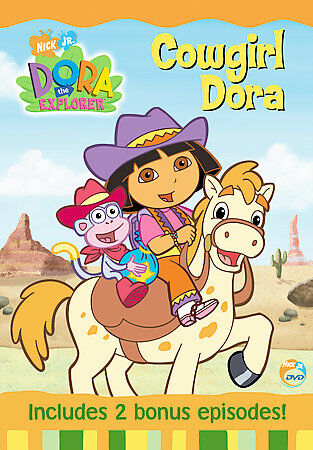 Dora the Explorer - Cowgirl Dora, Good DVD, ,