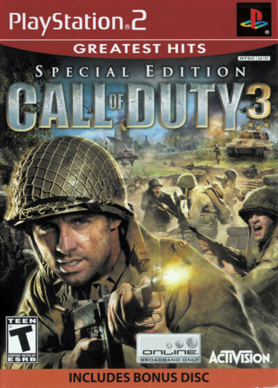 Call of Duty 3, Good Playstation 2 Video Games