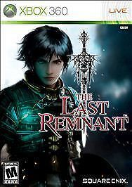 The Last Remnant -Xbox 360, Good Xbox 360, Xbox 360 Video Games
