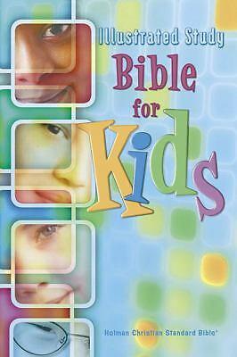 Illustrated Study Bible for Kids: Holman Christian Standard Bible, Holman Bible