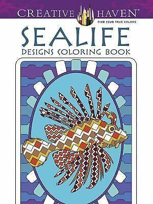 Creative Haven Sealife Designs Coloring Book (Creative Haven Coloring Books), Cr