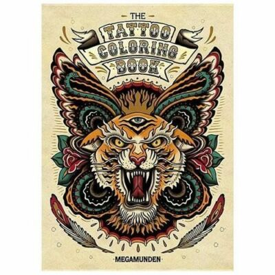 Tattoo Coloring Book, Munden, Oliver, Good Book