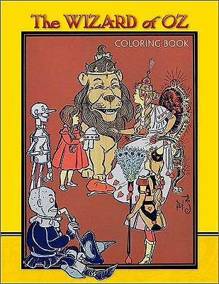 The Wizard of Oz Coloring Book, , Good Book