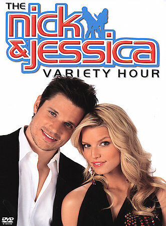 NICK AND JESSICA VARIETY HOUR  (DVD, 2004)BNISW JESSICA SIMPSON & NICK LACHEY