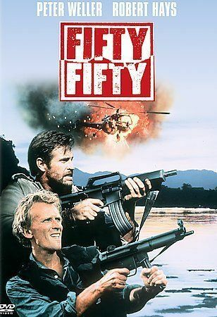 Fifty/Fifty (DVD, 2005)- BRAND NEW IN SHRINK WRAP PETER WELLER&ROBERT HAYS