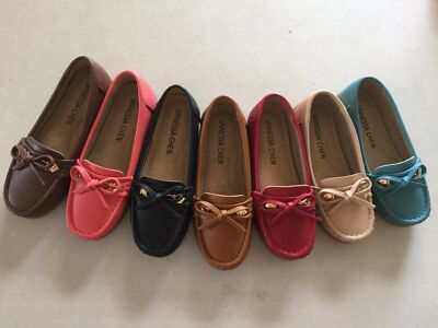 Kids/Toddler Girls Moccasin Shoes - Runs small - order 1 to 2 sizes up