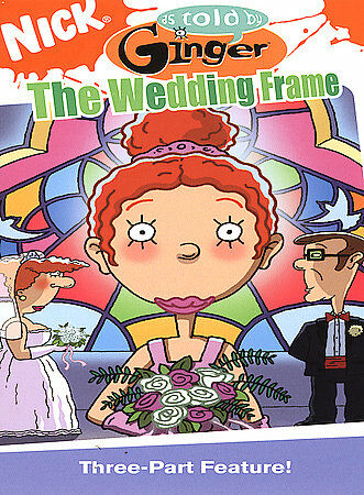 AS TOLD BY GINGER THE WEDDING FRAME  (DVD, 2004 )BNISW DAY U PAY IT SHIPOS FREE