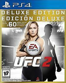 EA Sports UFC 2 Deluxe Edition (NEW, Sony PlayStation 4, 2016)