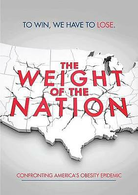 The WEIGHT of the NATION- Confronting America's Obesity Epidemic- DVD 3-Disc Set