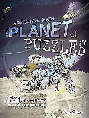 Planet of Puzzles (Math Quest), Glover, David, Good Book