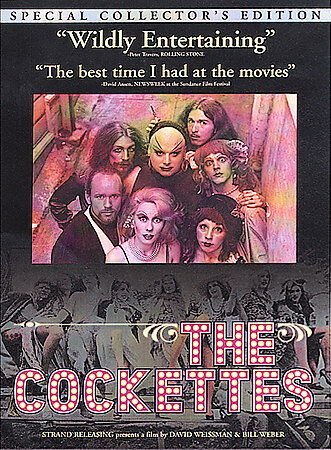 """The Cockettes"" Coll. Ed DVD Reg. 1 *LN* UPC: 712267220427 Stars: Candy Darling"