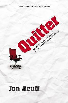 Quitter, Jon Acuff, Good Book