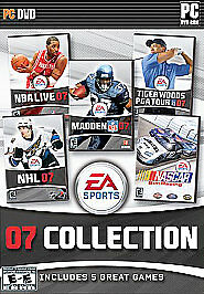 EA Sports 07 Collection (NBA Live, NHL, Madden, Tiger Woods PGA Tour, Nascar Sim
