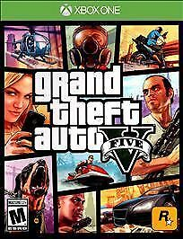 Grand Theft Auto V Xbox One, 2015 Download - SEE DESCRIPTION AT BOTTOM