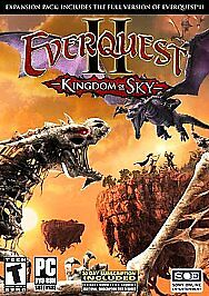 Everquest 2: Kingdom of Sky Expansion Pack - PC, Good Windows 2000, Windows XP,