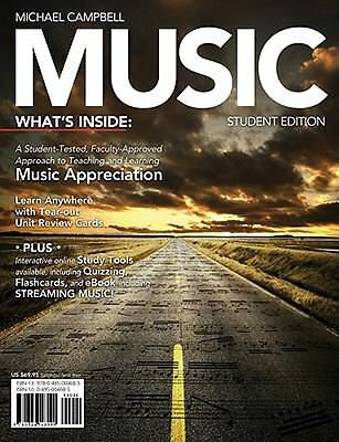 Music (with CourseMate Printed Access Card), Campbell, Michael, Good Book