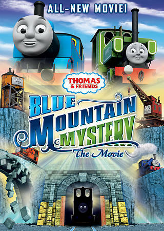 Thomas & Friends: Blue Mountain Mystery the Movie, Good DVD, David Bedella, Mich