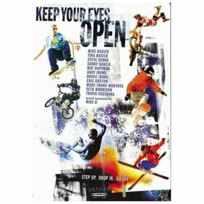 KEEP YOUR EYES OPEN (DVD, 2003) MATT HOFFMAN BNISW DAY U PAY IT SHIPS FREE