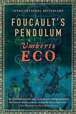 Foucault's Pendulum, Eco, Umberto, Good Book