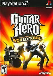 Guitar Hero World Tour, Good PlayStation2, Playstation 2 Video Games