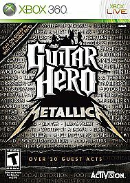 Guitar Hero Metallica, Good Xbox 360, Xbox 360 Video Games
