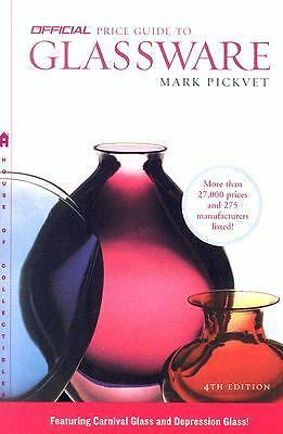 The Official Price Guide to Glassware, 4th Edition, Good Books