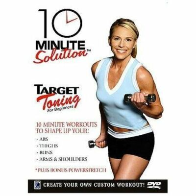 10 Minute Solution - Target Toning for Beginners, DVD, Cindy Whitmarsh, Andrea A