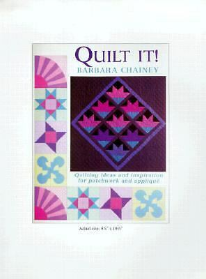 Quilt It!, Barbara Chainey