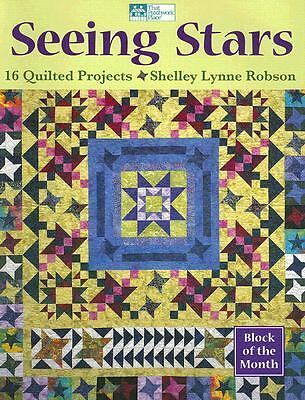 Seeing Stars: 16 Quilted Projects, Robson, Shelley Lynne, Books