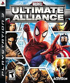 Marvel Ultimate Alliance, Good PlayStation 3, Playstation 3 Video Games