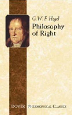 Philosophy of Right (Dover Philosophical Classics), Good Books