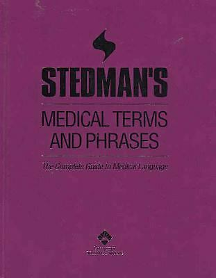 Stedman's Medical Terms and Phrases, Good Books