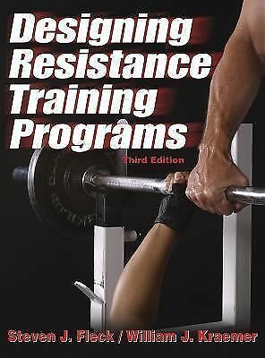 Designing Resistance Training Programs - 3rd, Good Books