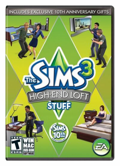 The Sims 3: High End Loft Stuff - PC