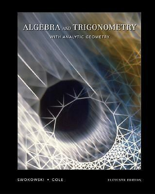 Algebra and Trigonometry with Analytic Geometry (11th Edition with CD-ROM), Good