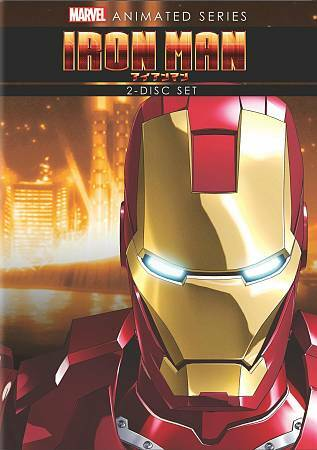 Marvel Anime: Iron Man - Complete Series, Good DVDs