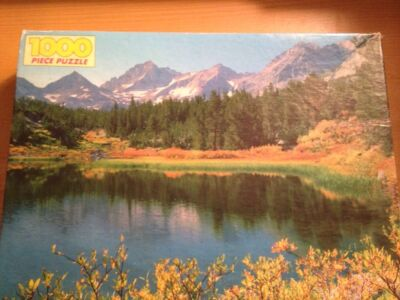"1000PC PUZZLE""LITTLE LAKES VALLEY"" GOLDEN NO. 4777-48 NEW"