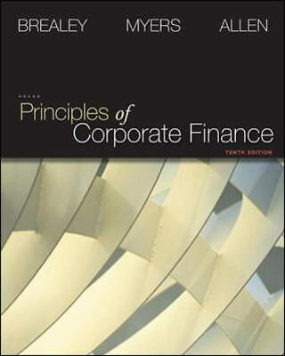 Principles of Corporate Finance (Finance, Insurance, and Real Estate), Good Book