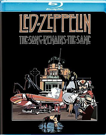 Led Zeppelin - The Song Remains the Same [Blu-ray], DVD, Jimmy Page, John Paul J