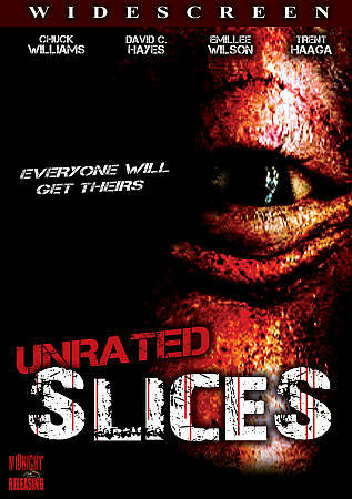SLICES  (DVD, 2009, Unrated)BNISW THE DAY U PAY IT SHIPS FREE