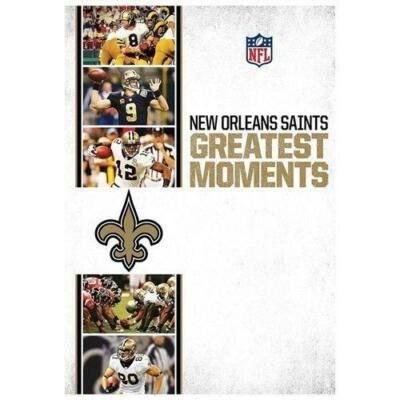 NFL Greatest Moments: New Orleans Saints, DVD, Various, NFL Films, Subtitled, NT