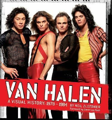 Van Halen: A Visual History: 1978 - 1984, Neil Zlozower, Books