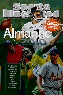 SPORTS ILLUSTRATED ALMANAC 2010 HARDBACK 2009 HARDBACK NOT PAPERBACK NEW