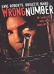 WRONG NUMBER  (DVD, 2002) BNISW ERIC ROBERTS EXCELLENT SUSPENSE